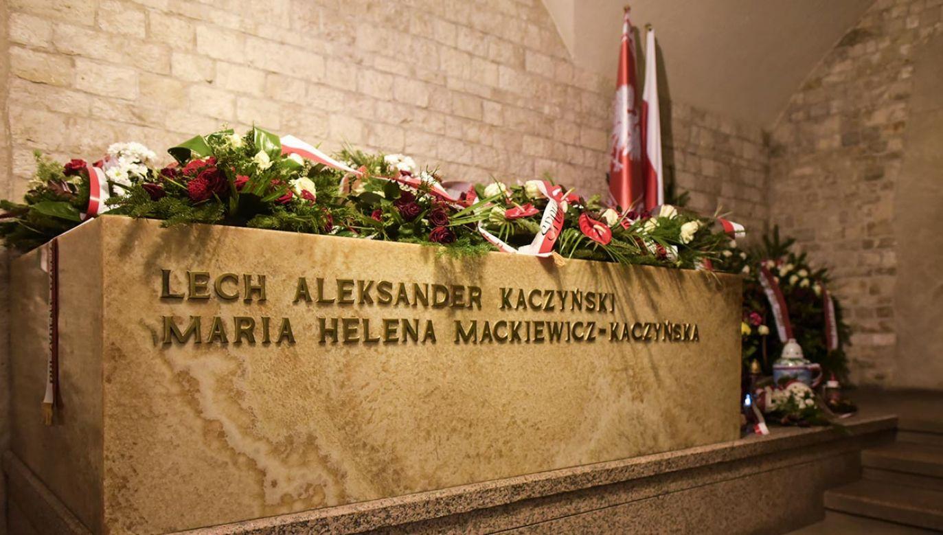 Lech i Maria Kaczyńscy zginęli 10 kwietnia 2010 roku w katastrofie samolotu pod Smoleńskiem w drodze do Katynia (fot.  Omar Marques/Anadolu Agency/Getty Images)