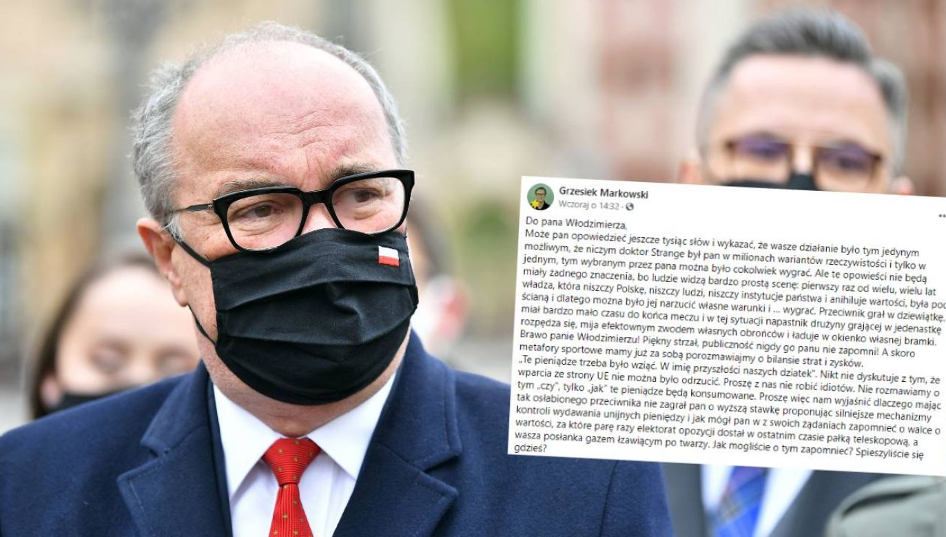 Przewodniczący Nowej Lewicy Włodzimierz Czarzasty poparł KPO (fot. PAP/Maciej Kulczyński)