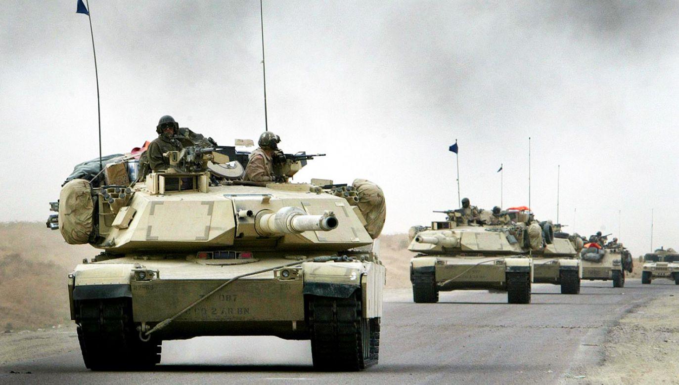 Ćwiczenia Defender-Europe 20 potrwają od lutego do kwietnia (fot. Reuters/Kai Pfaffenbach)