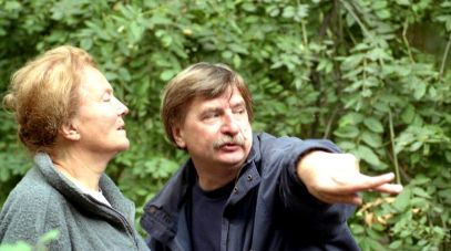 Reżyser Izabella Cywińska i operator Ryszard Lenczewski (fot. Ireneusz Sobieszczuk, TVP)