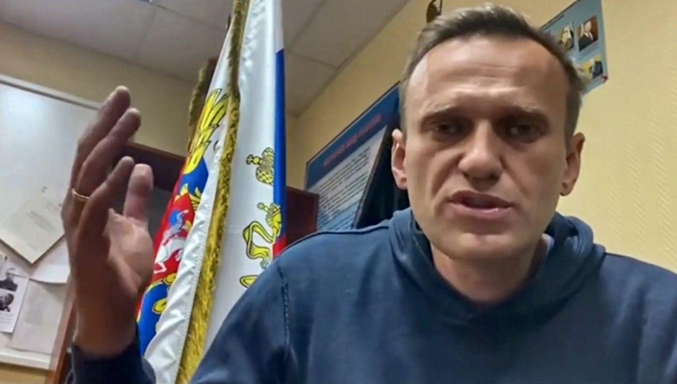 Aleksiej Nawalny w niedzielę wrócił do Rosji po pięciomiesięcznym leczeniu w Niemczech (fot. PAP/EPA/NAVALNY PRESS TEAM)