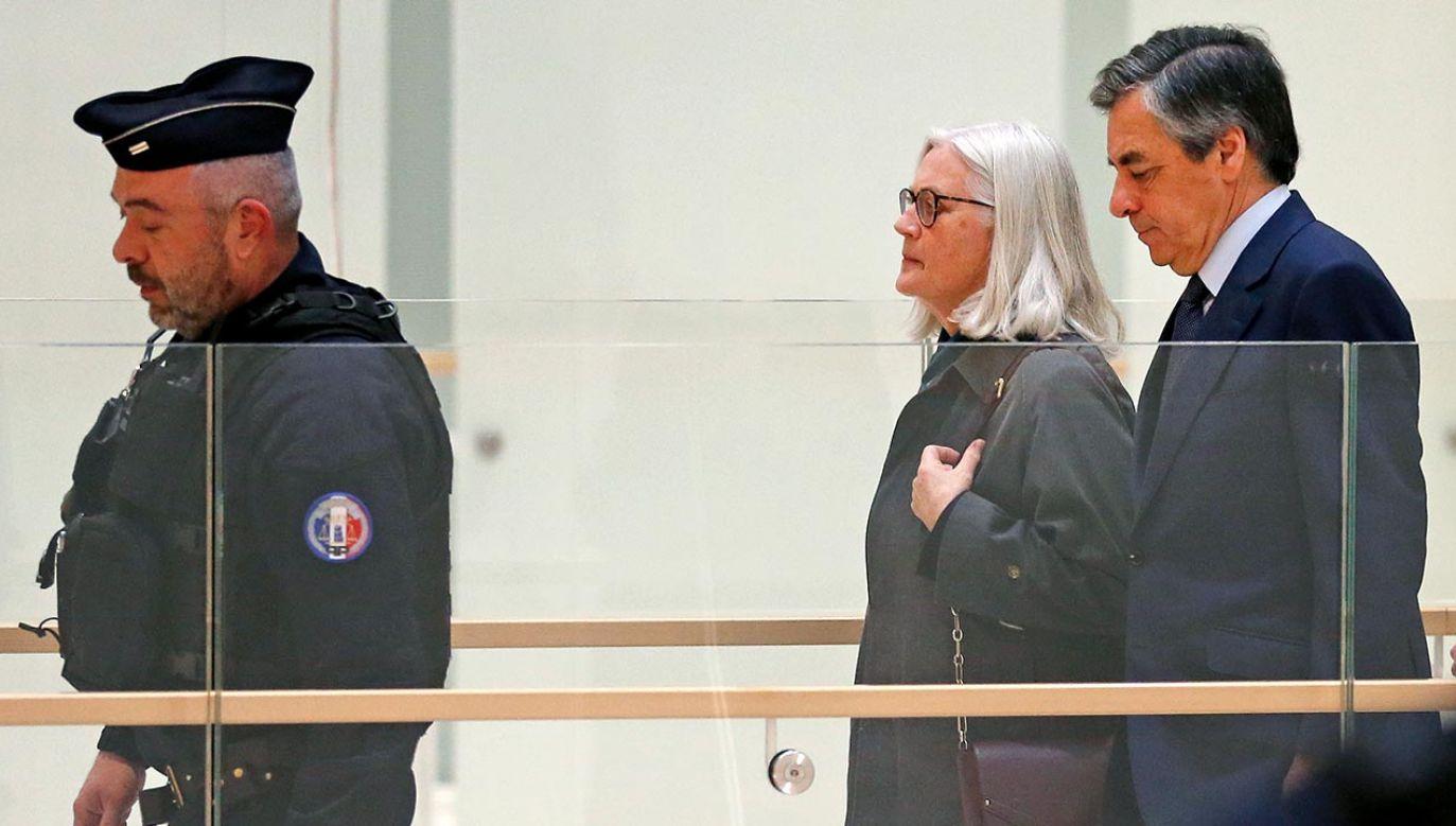 Państwo Fillon zapowiedzieli apelację (fot. Chesnot/Getty Images)