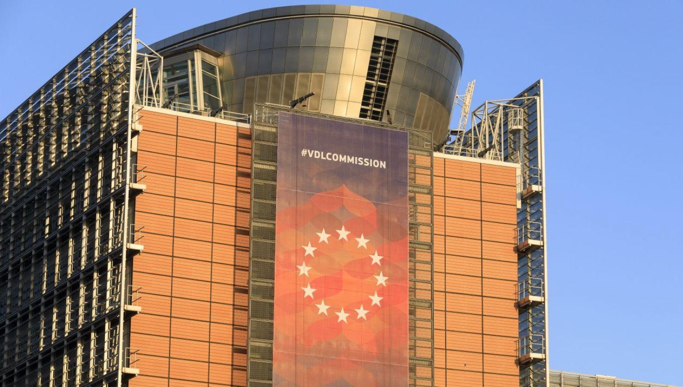 Siedziba Komisji Europejskiej w Brukseli (fot. Thierry Monasse/Getty Images)