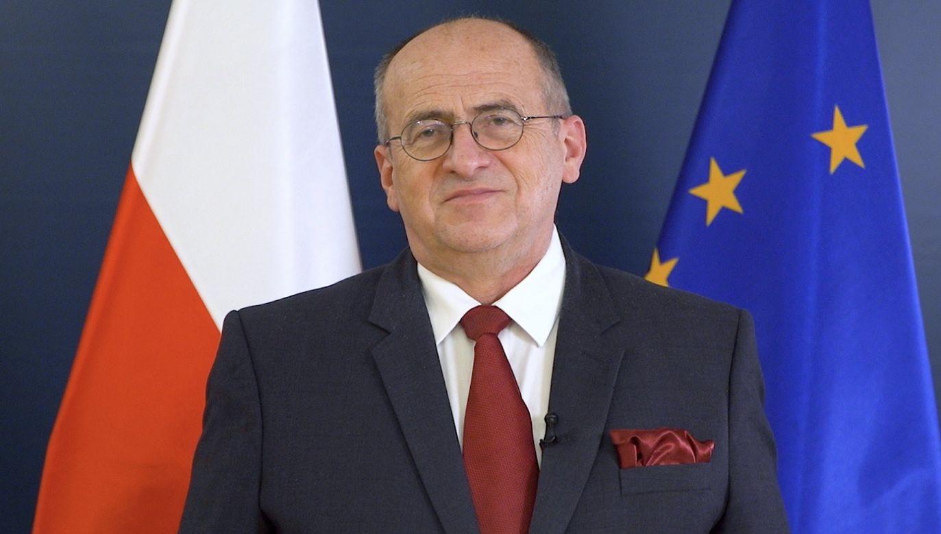 Szef polskiej dyplomacji przypomniał również o zaangażowaniu polskiej pomocy humanitarnej  (fot. tt/MSZ)