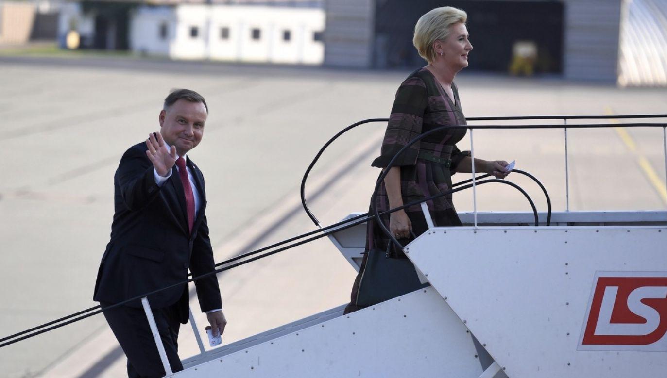 Andrzej Duda z wizytą we Włoszech (fot. PAP/Piotr Nowak)