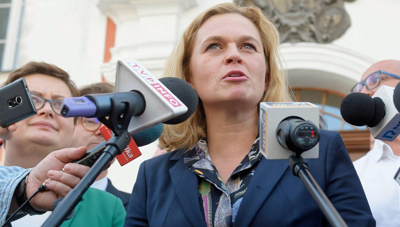 Polityk Inicjatywy Polskiej stwierdziła, że w ramach KE nie będzie podejmowany temat aborcji (fot. arch.PAP/Jakub Kaczmarczyk)