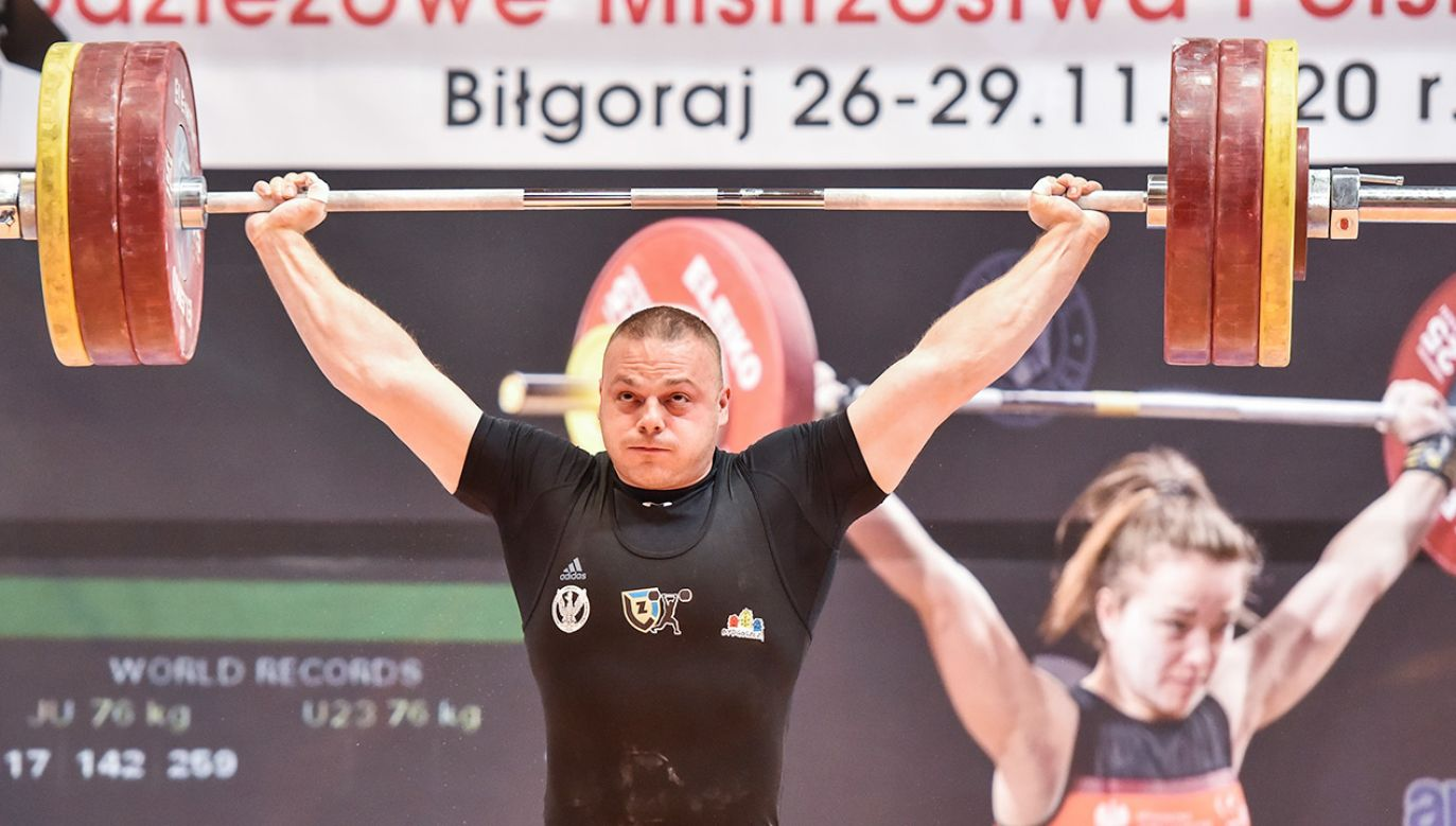 Adrian Zieliński jest złotym medalistą olimpijskim z Londynu (fot. PAP/Wojtek Jargiło)