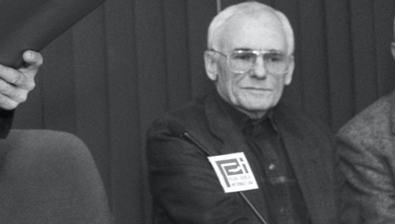 Zmarł Jan Borkowski, wieloletni pracownik Polskiego Radia (fot. arch.PAP/Grzegorz Rogiński)