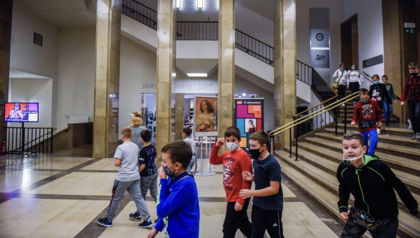 Muzeum Narodowe w Warszawie wraz z oddziałami będzie zamknięte od czwartku 29 października do odwołania (fot. Omar Marques/Getty Images)