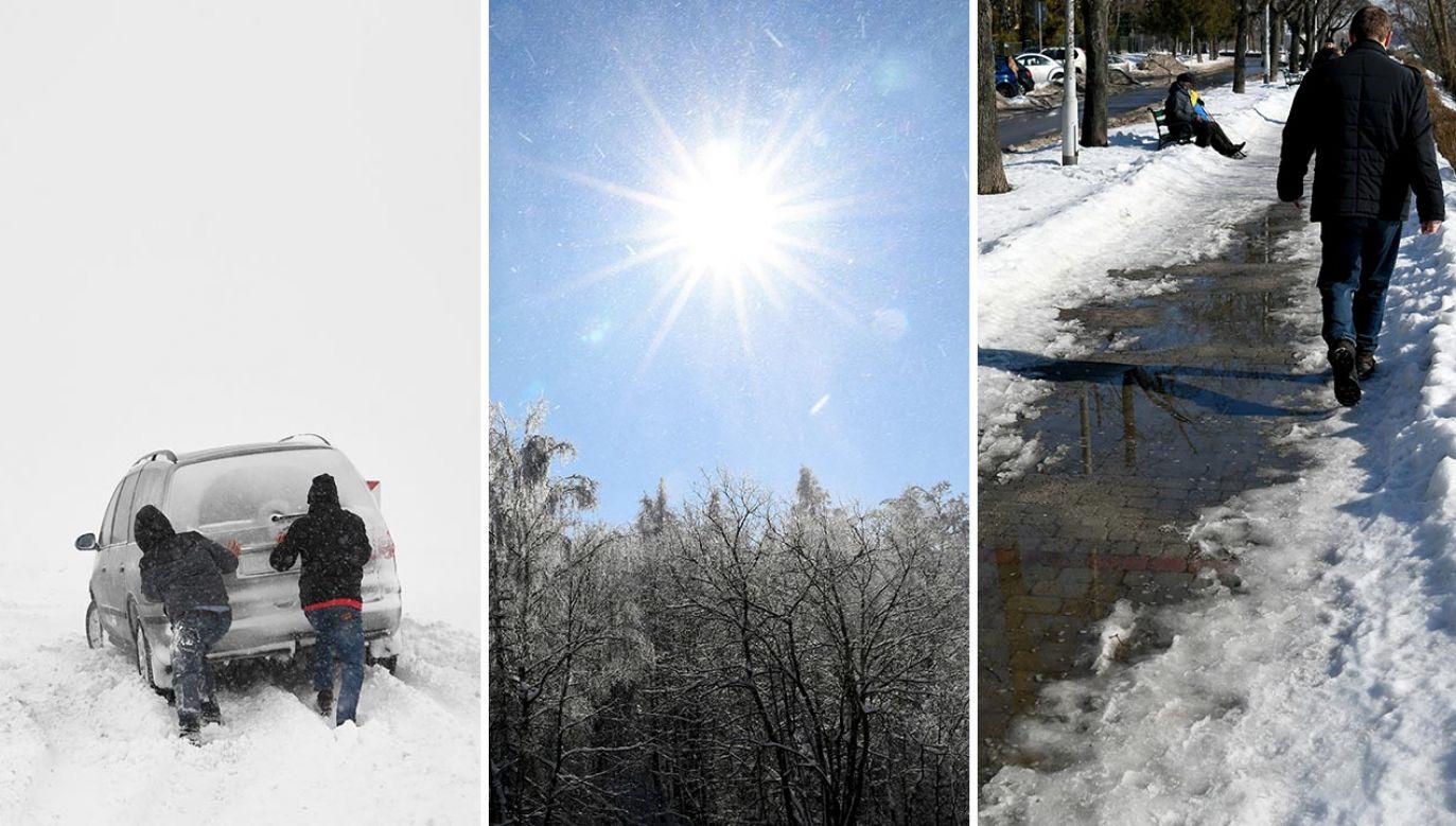 Jeszcze w lutym możliwe temperatury ujemne (fot. PAP/Darek Delmanowicz)