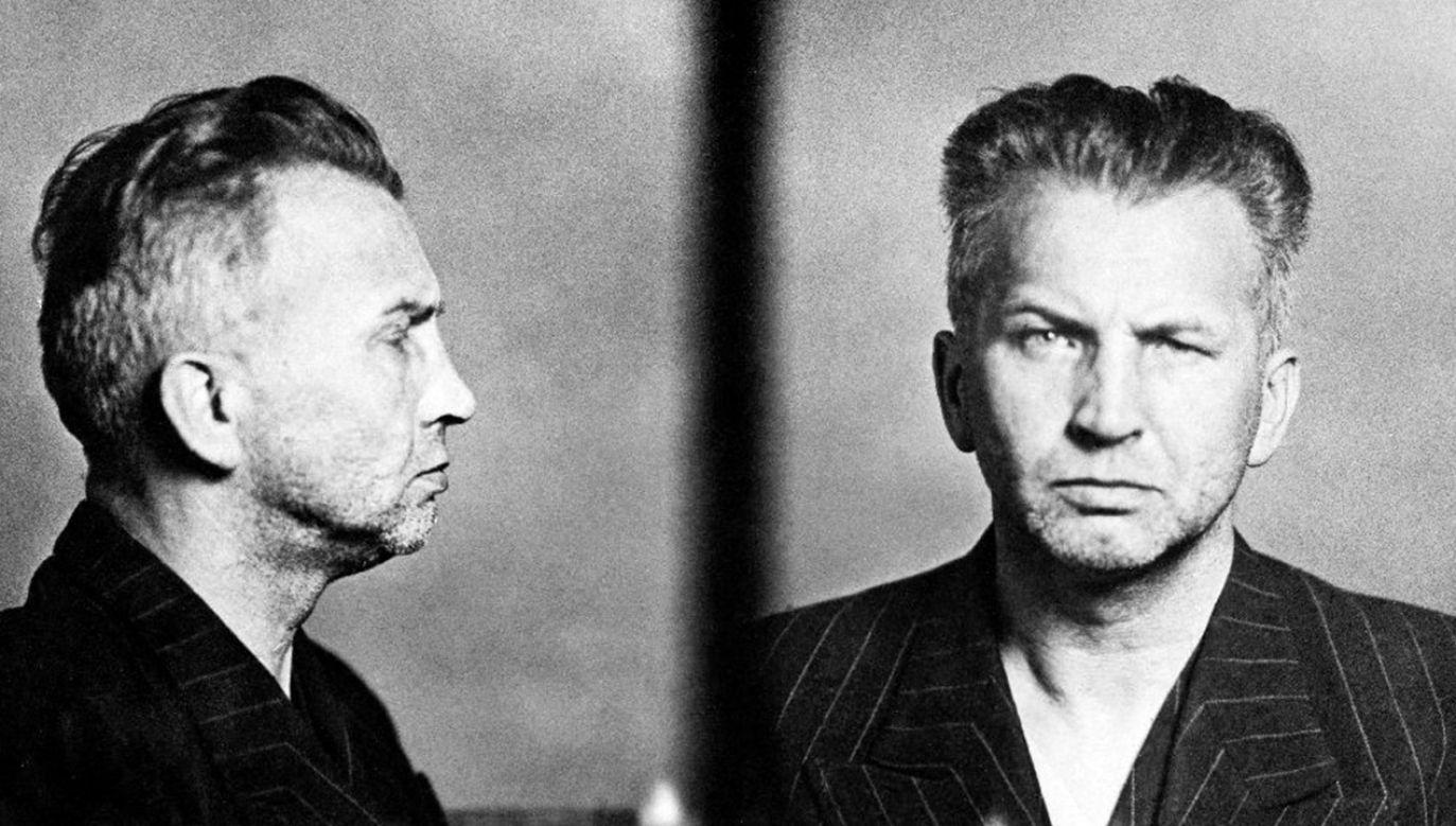 Leopold Okulicki po aresztowaniu przez NKWD (fot. Wikimedia Commons)