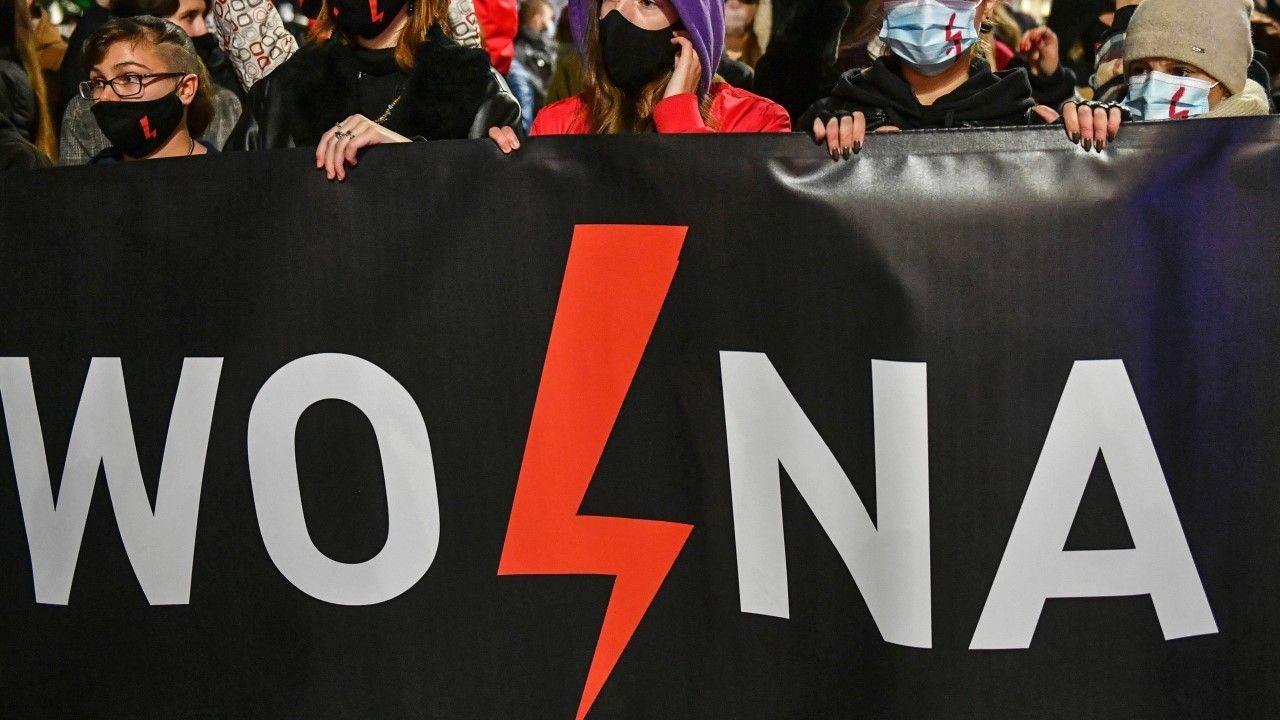 Protest proaborcyjny w Lublinie 30 października 2020 r. (zdjęcie ilustracyjne) (fot. arch PAP / Wojtek Jargiło)
