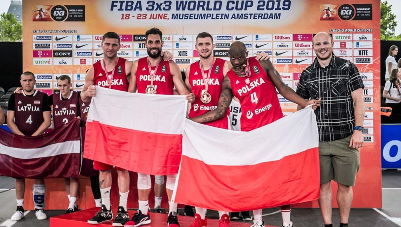 Marcin Sroka, Paweł Pawłowski, Przemysław Zamojski, Michael Hicks (fot. FIBA.com)