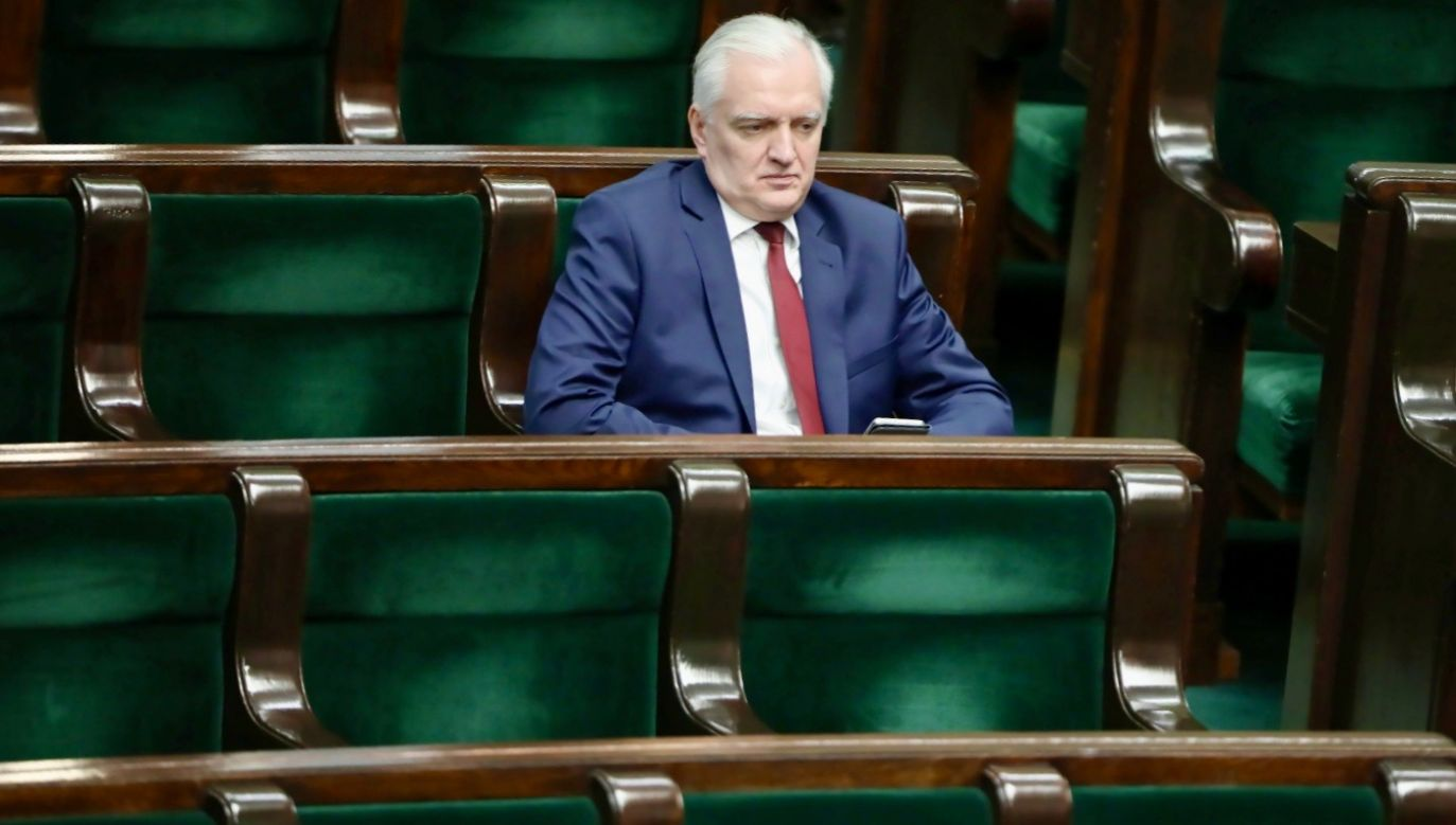 Krótki rzut oka na polityczną karierę Jarosława Gowina daje do myślenia (fot. PAP/Wojciech Olkuśnik)