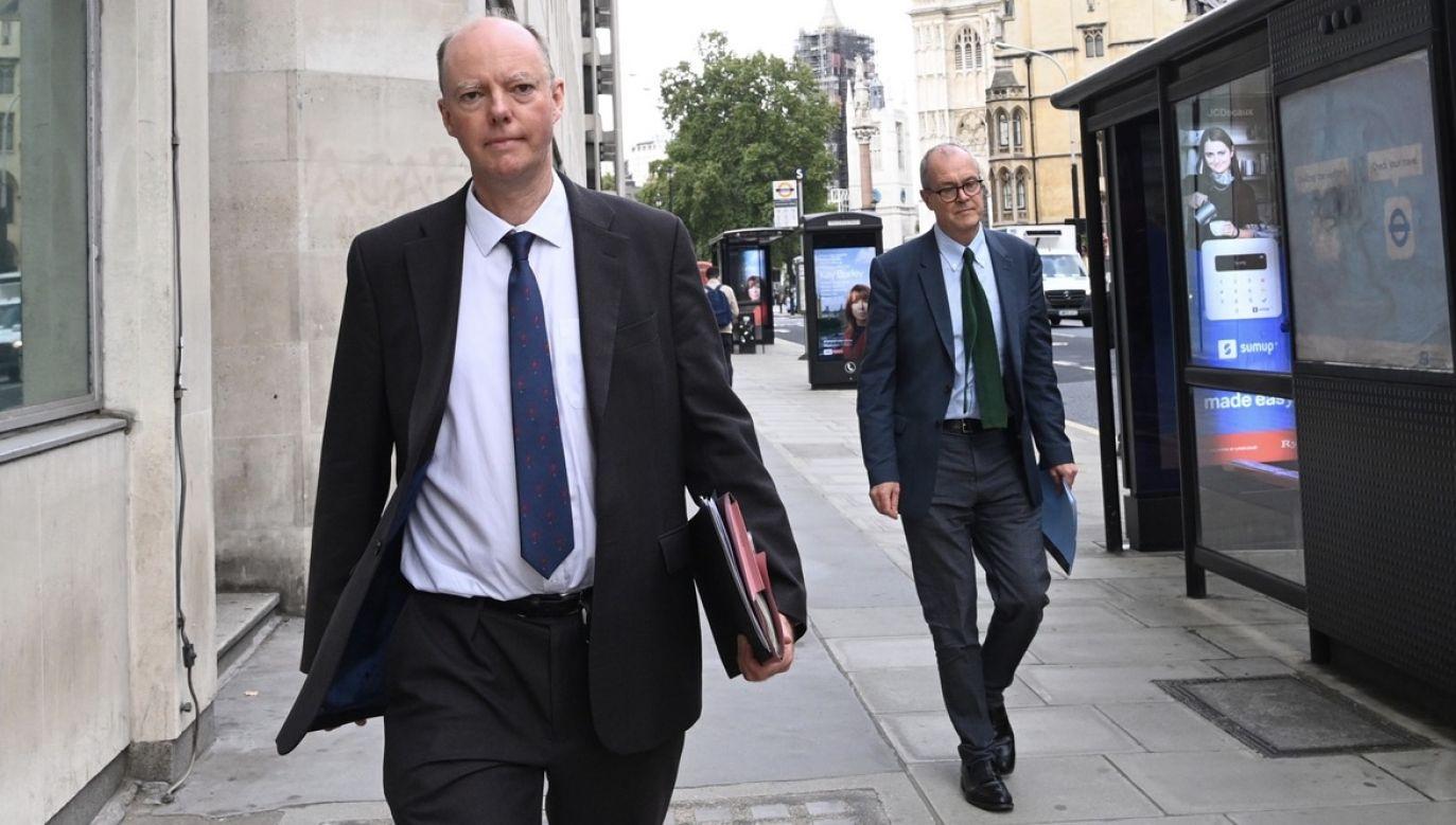 Eksperci nie wróżą uspokojenia sytuacji epidemicznej w Wielkiej Brytanii (fot. PAP/EPA/FACUNDO ARRIZABALAGA)