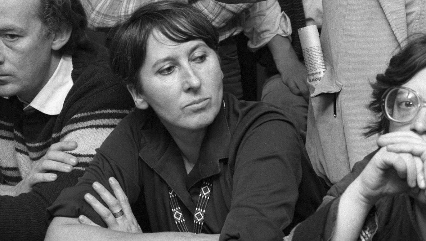 Warszawska Szkoła Filmowa poinformowała o śmierciBarbary Pec-Ślesickiej (fot. arch.PAP/Stefan Kraszewski)
