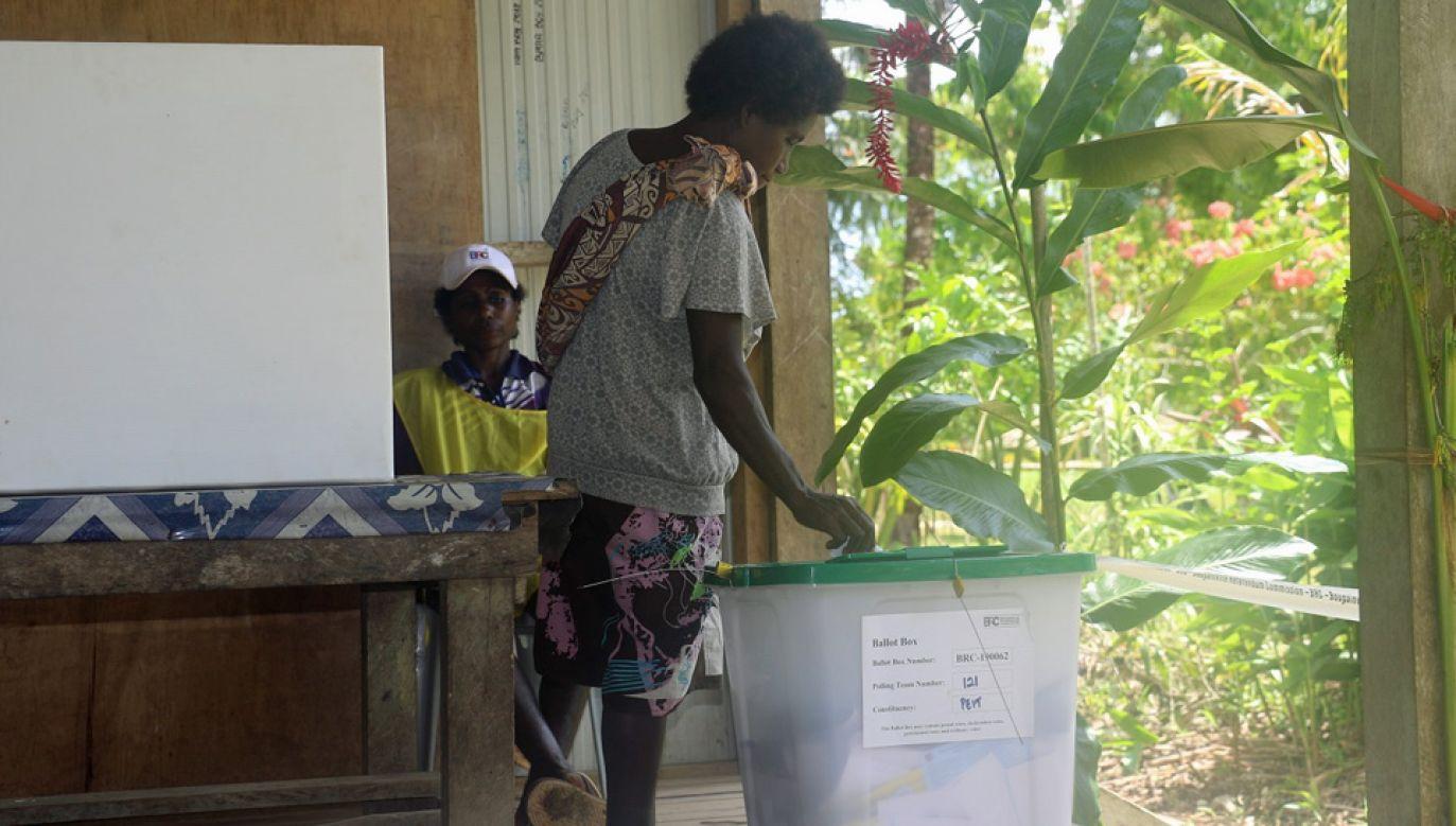 W referendum 98 proc. uczestników opowiedziało się za niepodległością (fot. FB/Autonomous Bougainville Government)