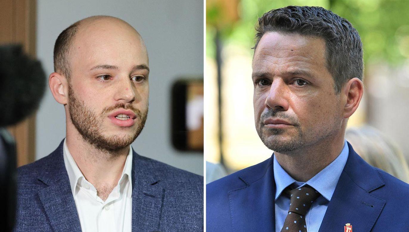 Trzaskowski nic nie skończył, nic tak naprawdę nie zaczął – podsumowuje Jan Śpiewak (fot. PAP/Paweł Supernak, Radek Pietruszka)