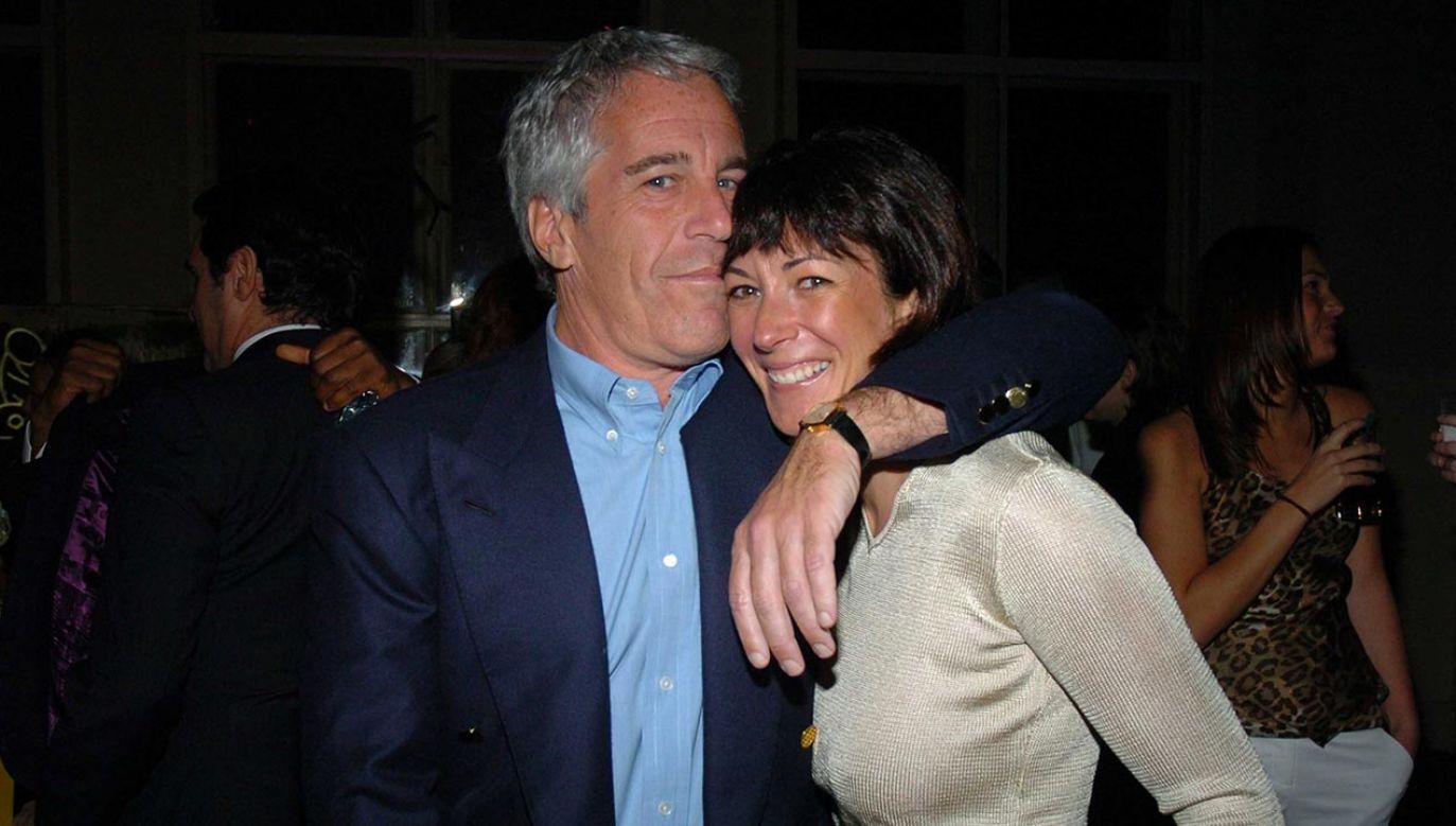 Ghislaine Maxwell  była przyjaciółką i długoletnią współpracownicą Jeffreya Epsteina (fot. Joe Schildhorn/Patrick McMullan via Getty Images)