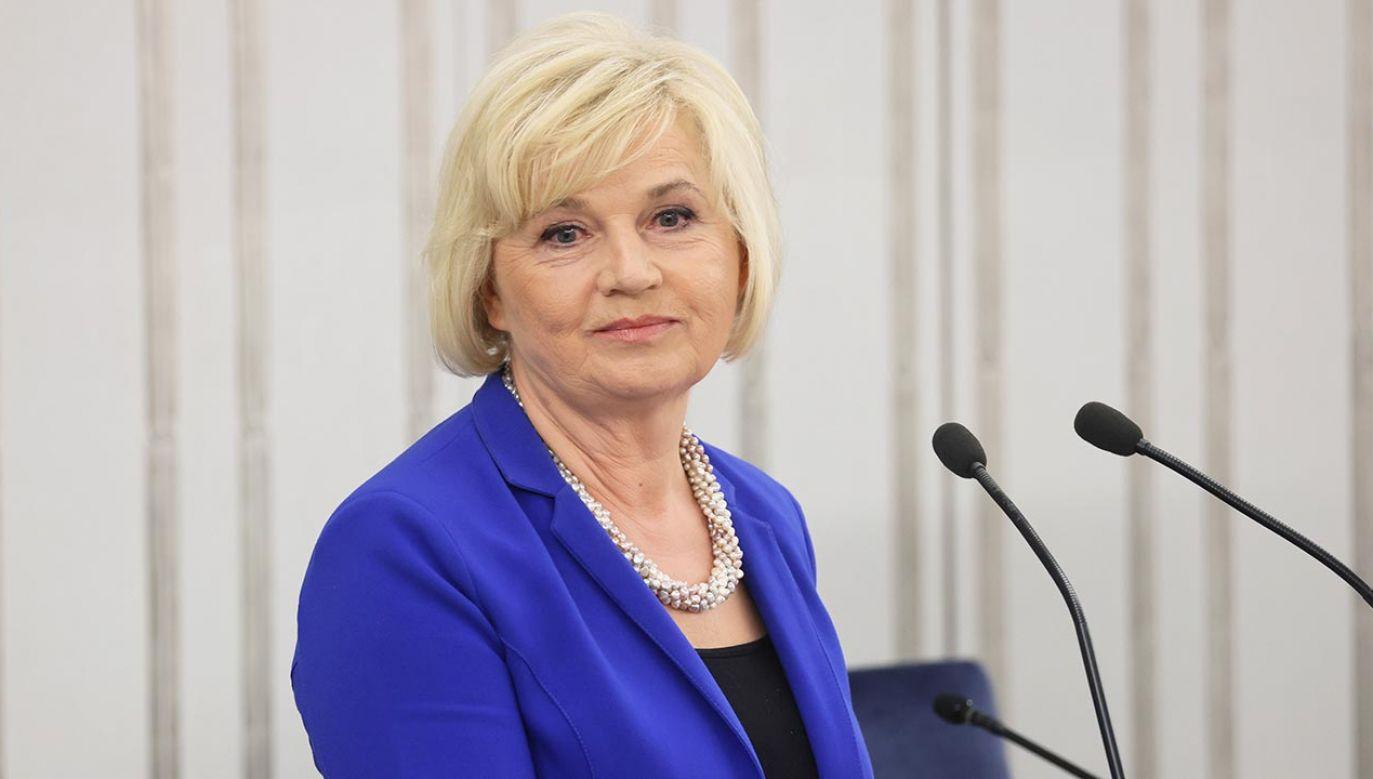 Lidia Staroń (fot. PAP/Leszek Szymański)