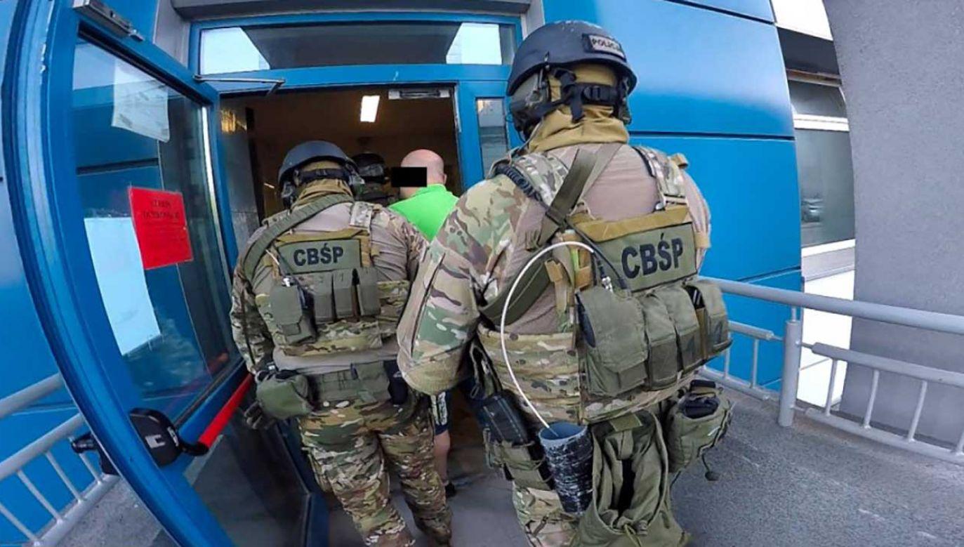 Policjanci Centralnego Biura Śledczego Policji i prokuratorzy z Prokuratury Krajowej wytypowali podejrzanych (fot. cbsp.policja.pl)