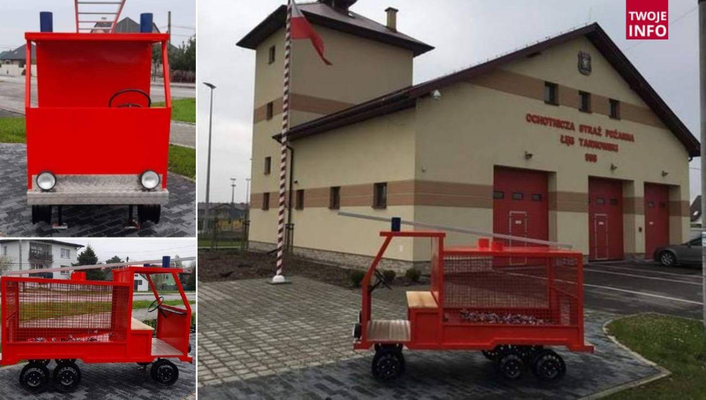 Strażacy chętnie angażują się w akcje charytatywne (fot. OSP Łęg Tarnowski)