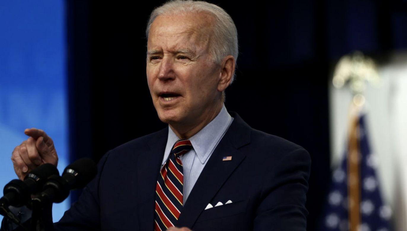 Prezydent USA Joe Biden ma przyjechać do Europy (fot. A.Wong/Getty Images)
