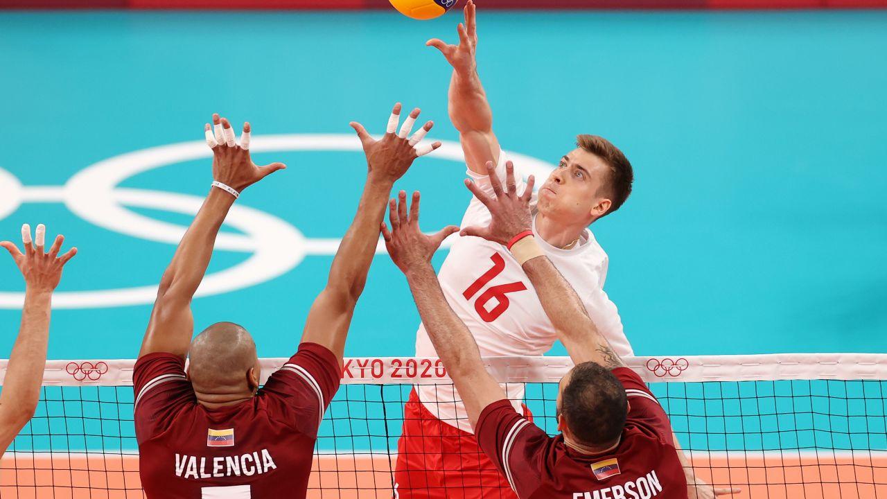 Polska łatwo pokonała Wenezuelę w kolejnym meczu turnieju olimpijskiego (fot. Getty Images)