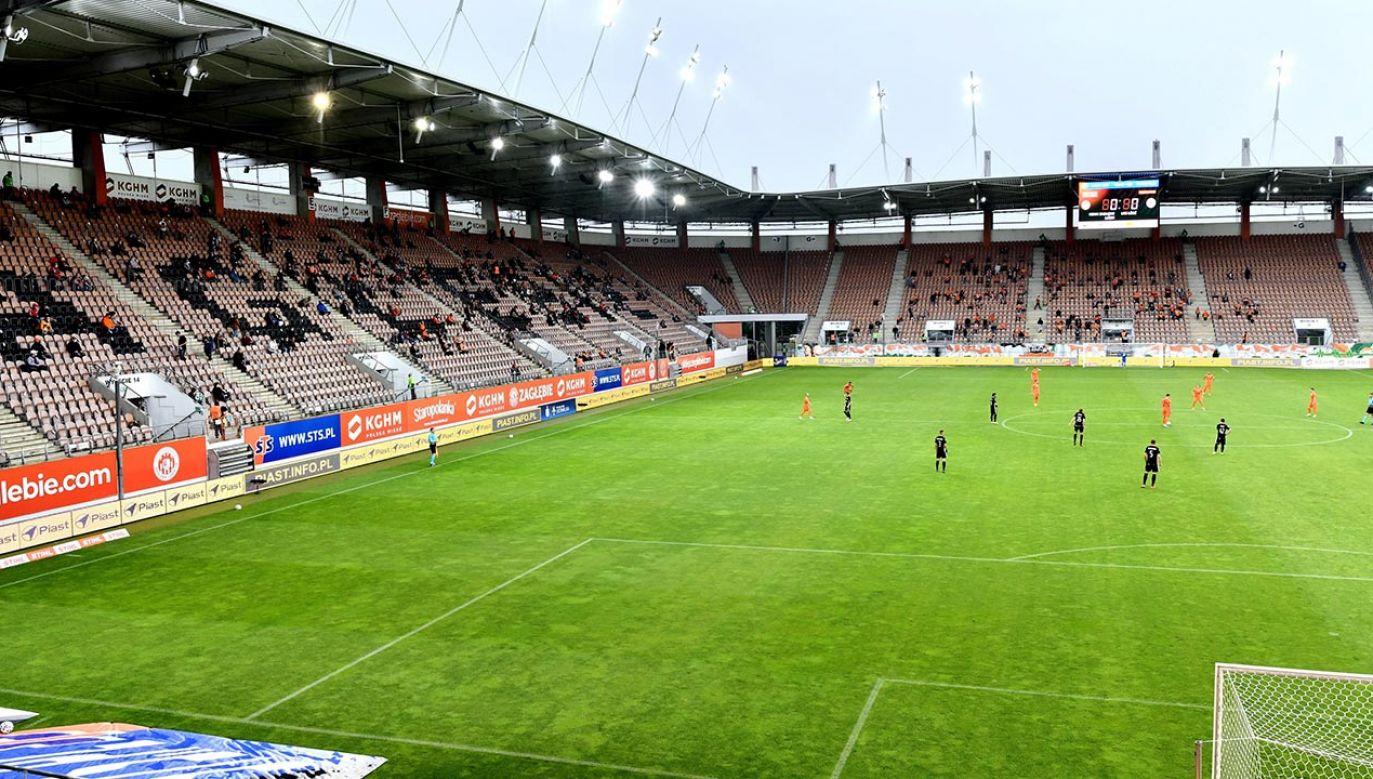 Na każdym stadionie zajęta będzie mogła być maksymalnie jedna czwarta dostępnych miejsc (fot. PAP/Sebastian Borowski)