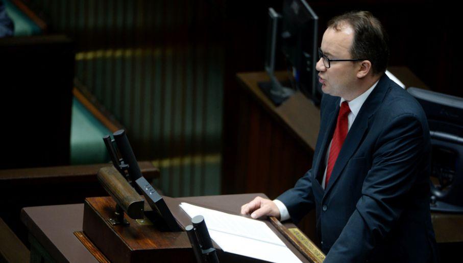 Rzecznik praw obywatelskich Adam Bodnar w Sejmie (fot. PAP/Jacek Turczyk)