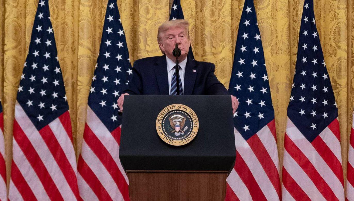 Donald Trump nie zamierza iść na polityczną emeryturę (fot. The White House)