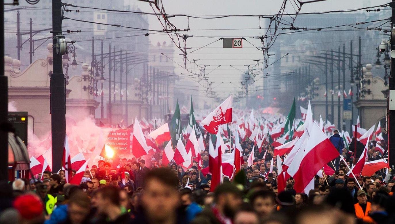 Decyzja ws. Marszu Niepodległości (fot. Adam Guz/Getty Images Poland/Getty Images)