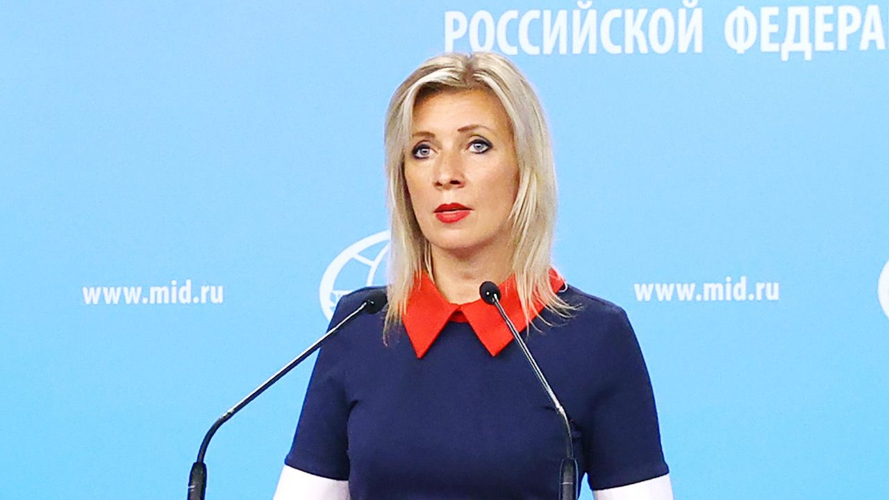 Rosyjskie MSZ ws. Nord Stream 2 (fot. Russian Foreign Ministry\TASS via Getty Images)