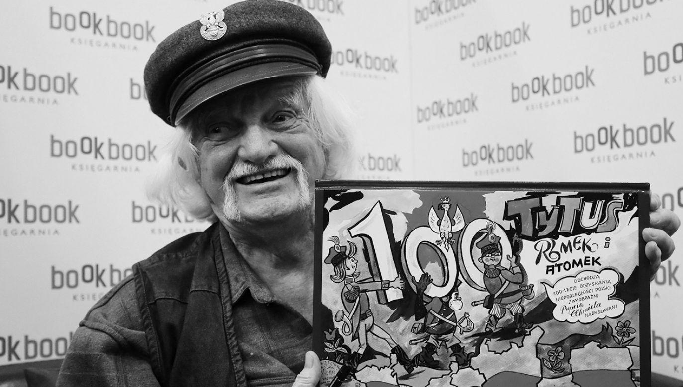 Miał 97 lat (fot. PAP/Paweł Supernak)