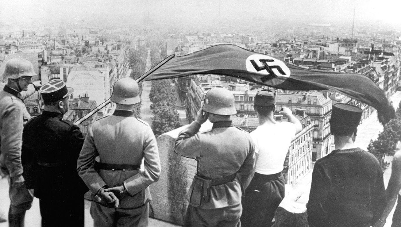 Po kapitulacji Francji powołano rząd Vichy (fot. Ann Ronan Pictures/Print Collector/Getty Images)