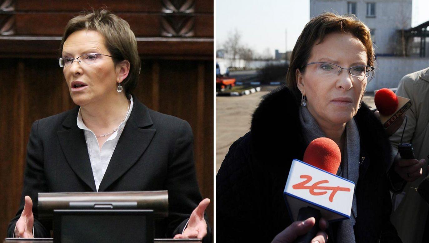 Co na konferencjach prasowych i w wywiadach między 2010 a 2017 rokiem mówiła Ewa Kopacz? (fot.  PAP/Paweł Supernak,  Jacek Turczyk)