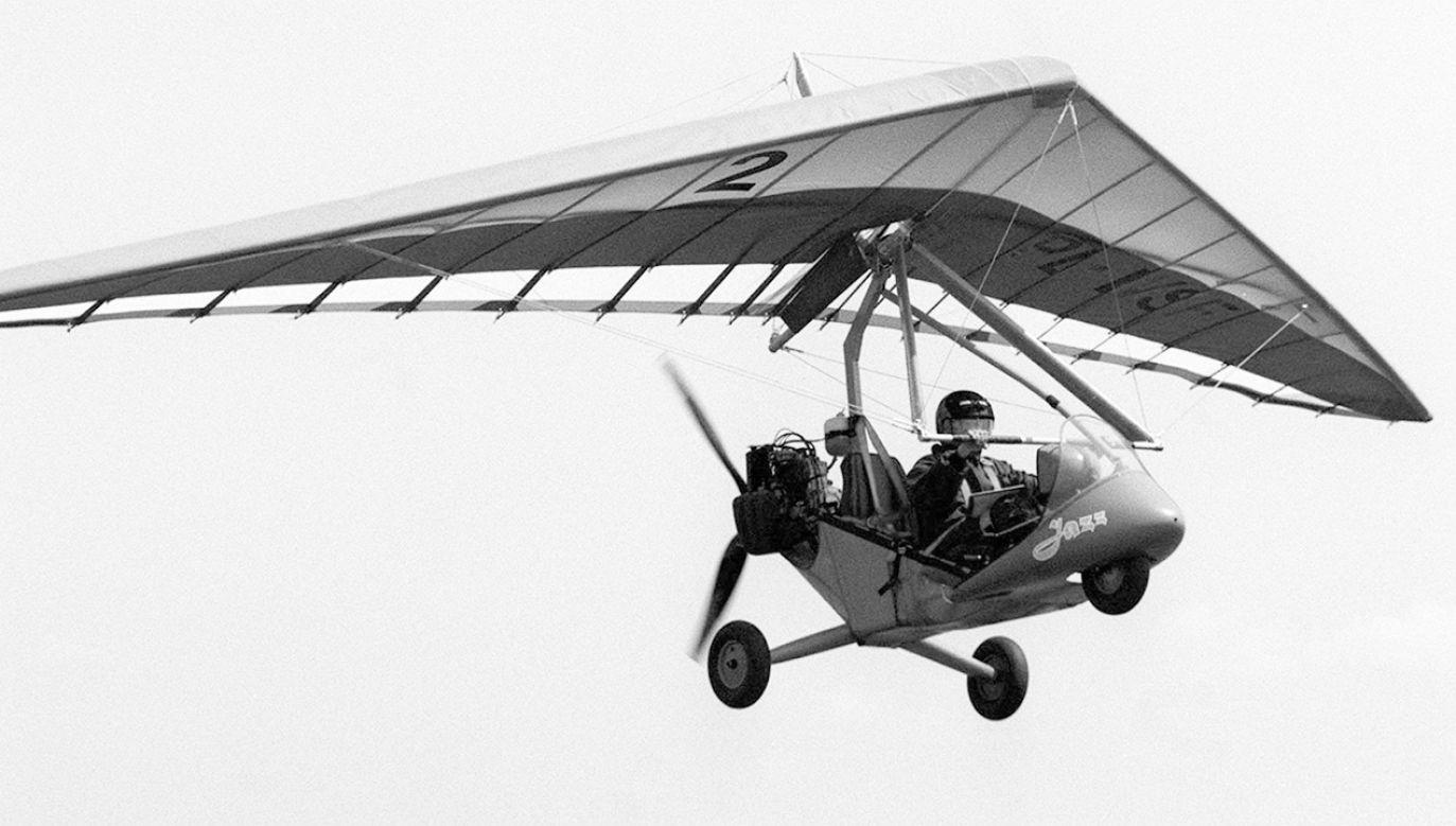 """""""Nad sobą cumulusy, pod sobą 2000 metrów i poczucie niesamowitej, całkowitej wolności"""" – pisał Dernbach o lataniu (fot. arch.PAP/Zdzisław Lenkiewicz)"""