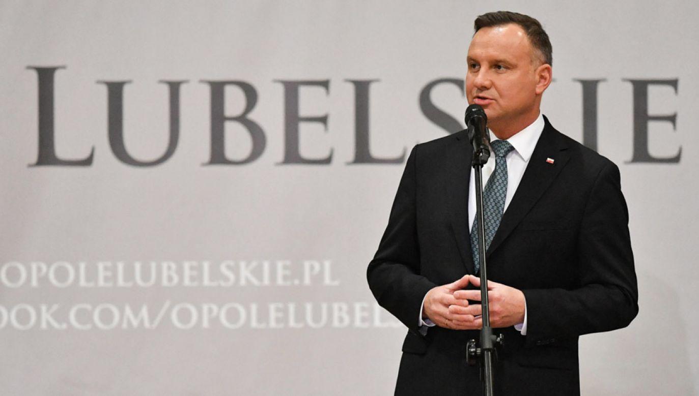 Prezydent uważa, że wymiar sprawiedliwości musi zostać naprawiony (fot. PAP/Wojtek Jargiło)