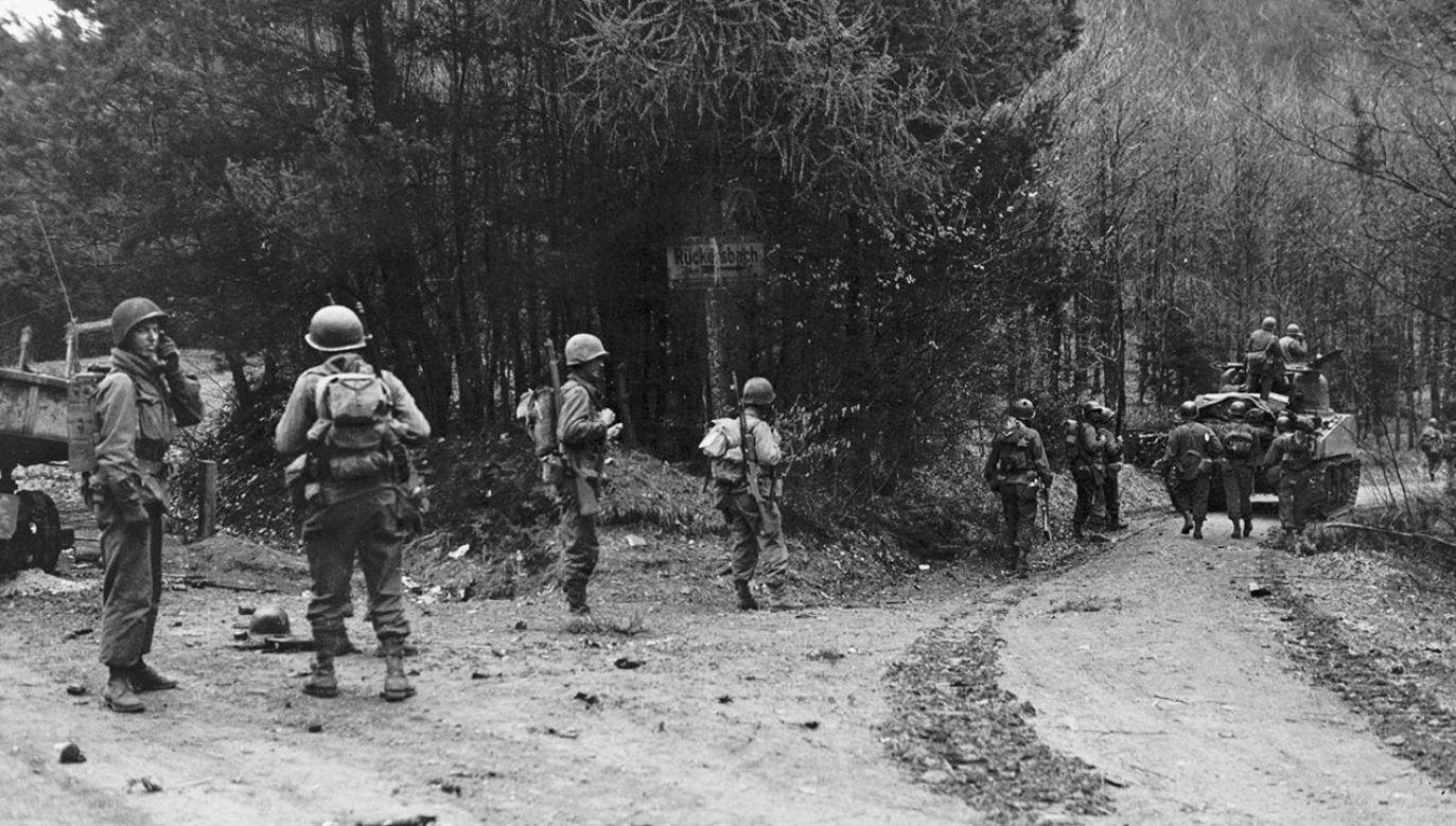 Amerykanie wypowiedzieli wojnę Niemcom pod koniec 1941 r. (fot. Roger Viollet Collection/Getty Images)