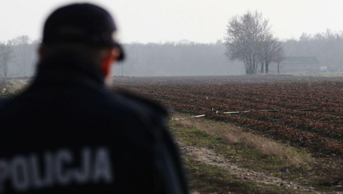 Kobietę zatrzymała policja (fot.arch.PAP/ Marcin Bednarski)