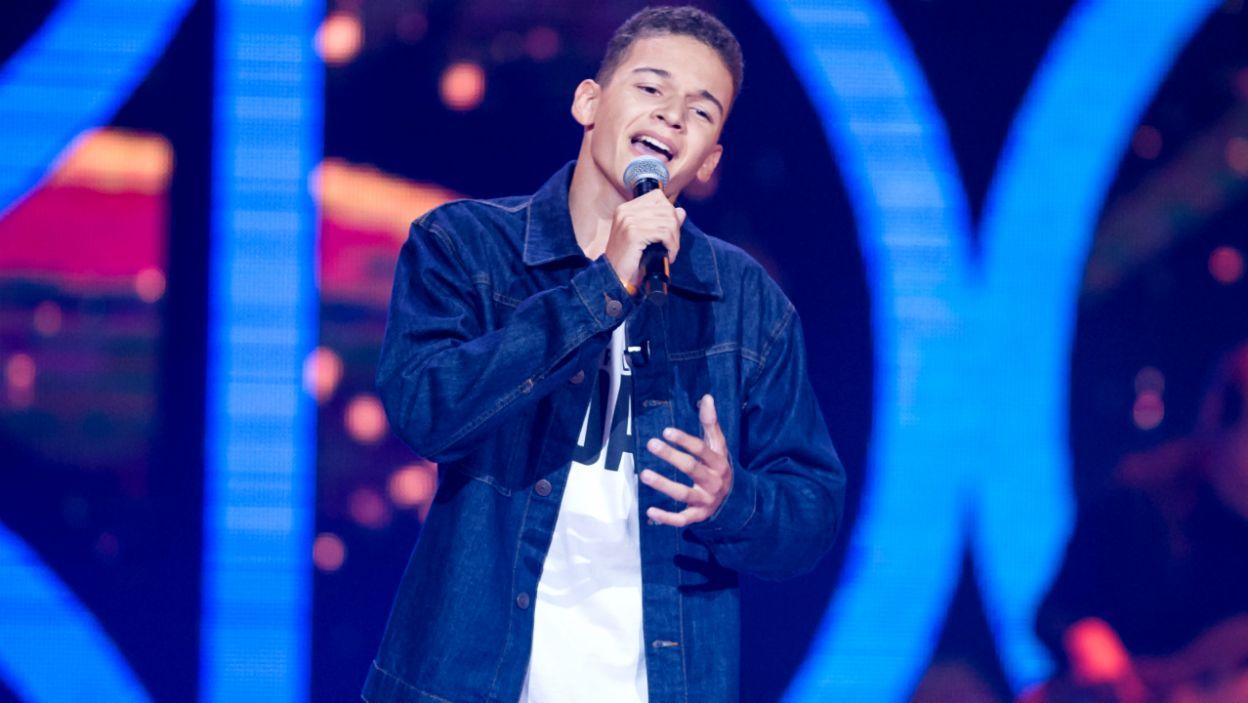 Śpiew pomaga Szymonowi Łasińskiemu w walce z cukrzycą. Niestety nie zobaczymy go w Bitwach (fot. TVP)
