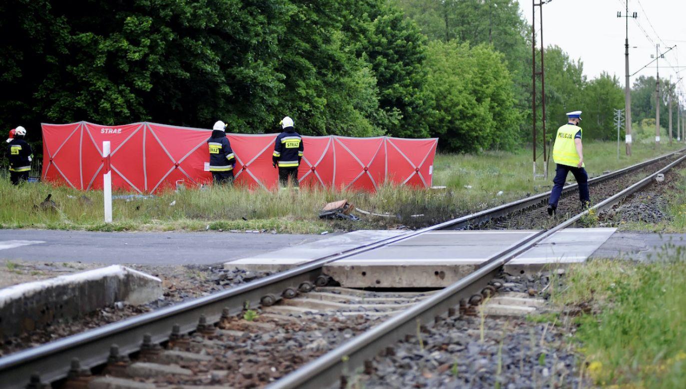 77-letnia rowerzystka zginęła na przejeździe kolejowym (fot. arch.PAP/Marcin Bielecki, zdjęcie ilustracyjne)