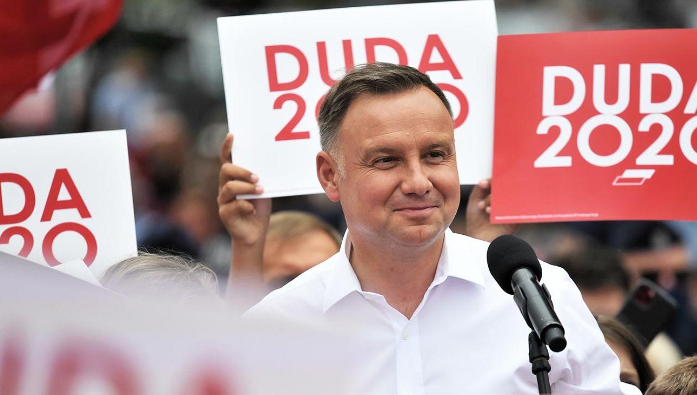Mucha: Jest niezwykle bulwersujące, że te nieprawdziwe informacje są używane w celach politycznych czy kampanijnych (fot. TVP Info)(fot. PAP/Tytus Żmijewski)