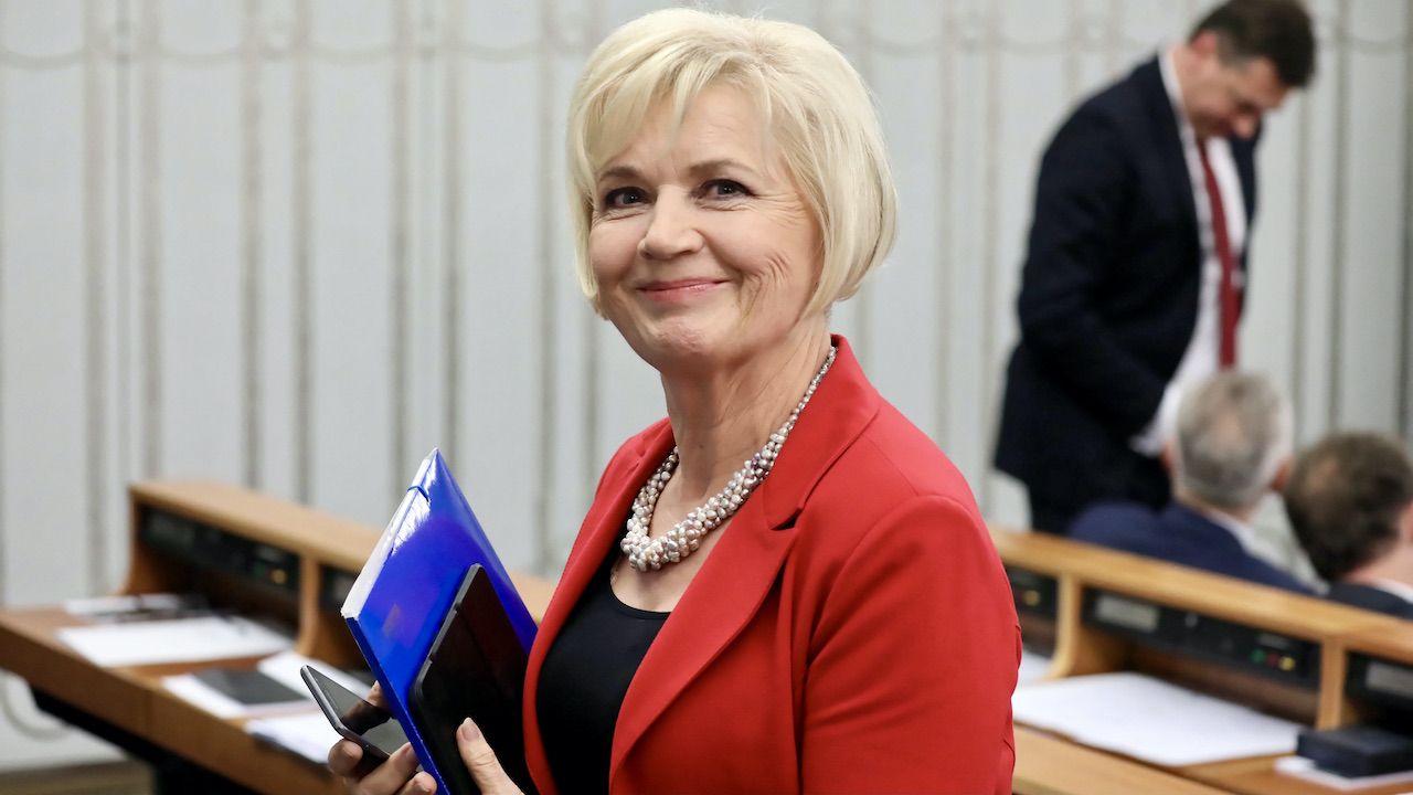 Senator Lidia Staroń uzyskała poparcie 231 posłów (fot. arch.PAP/Tomasz Gzell)