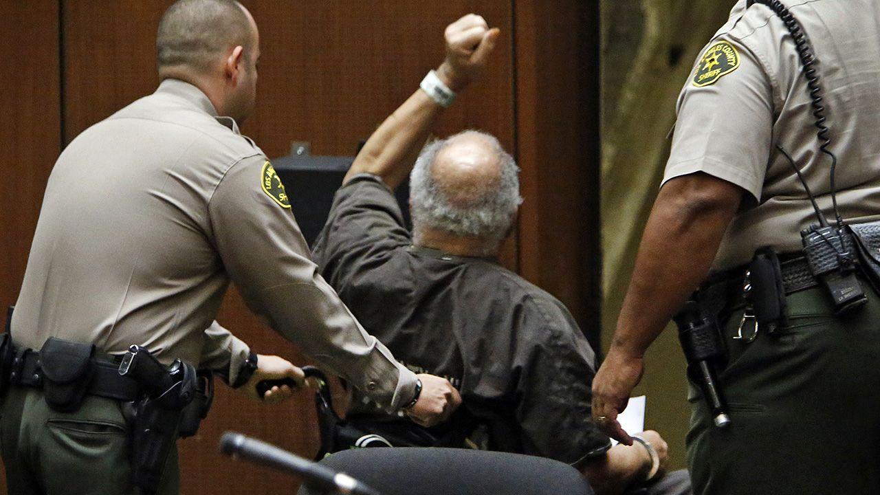 Samuel Little w 2014 roku został skazany na dożywocie za trzy morderstwa (fot. Al Seib/Los Angeles Times/Getty Images)