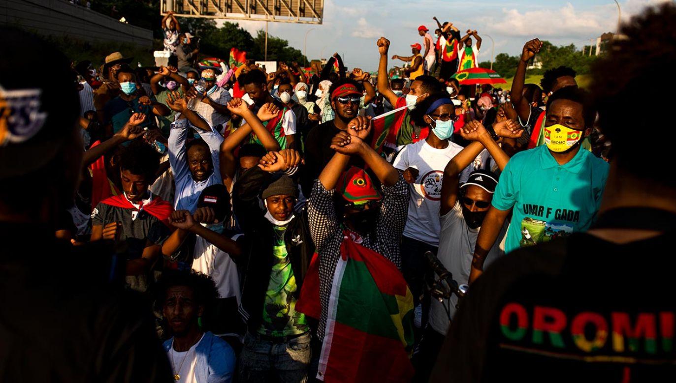 Etiopia przypomina dziś kocioł, w którym wrze od etnicznej rywalizacji i animozji (fot. Stephen Maturen/Getty Images)