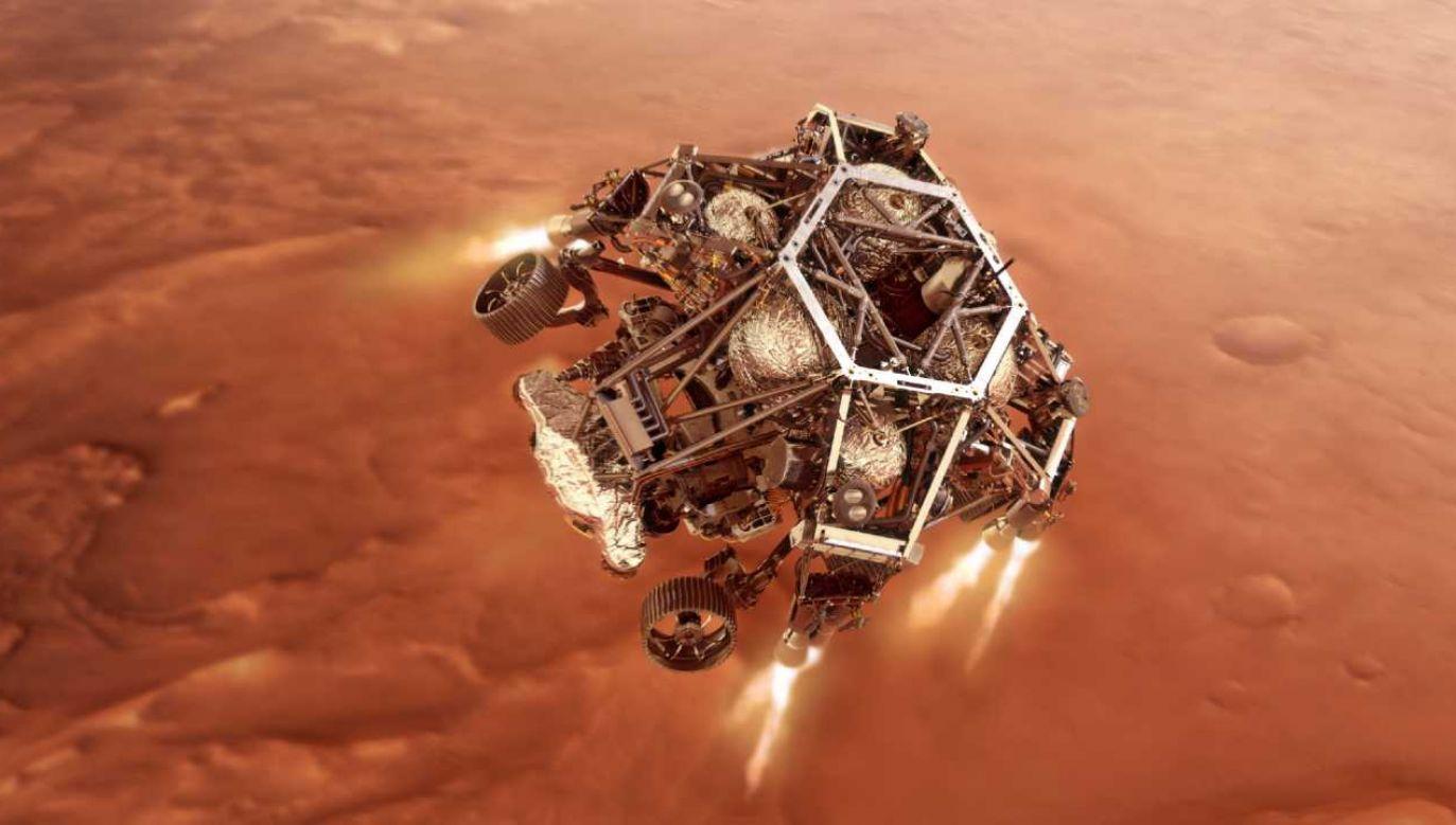 Koszt całego projektu Mars 2020 wyniósł 2,4 mld dolarów (fot. PAP/EPA/NASA/JPL-Caltech HANDOUT)