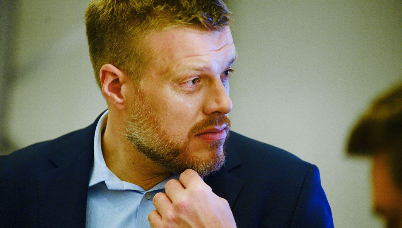 Adrian Zandberg, poseł Lewicy i współzałożyciel partii Razem (fot. Omar Marques/Getty Images)