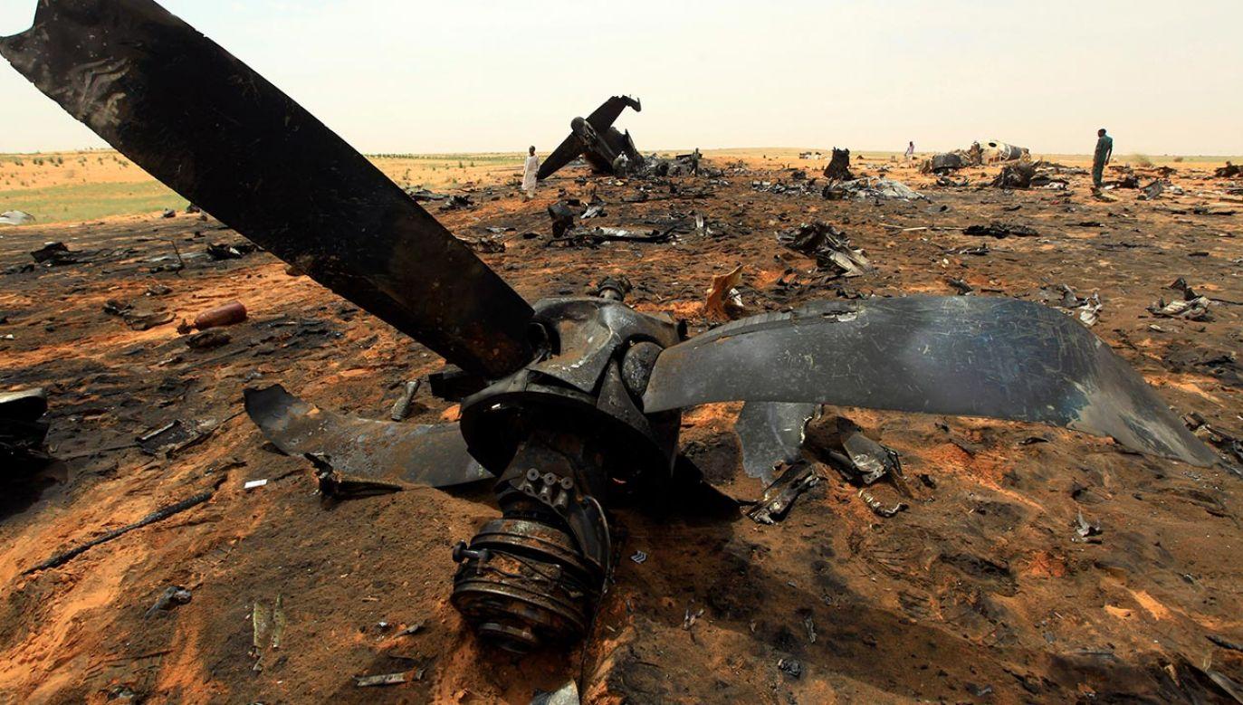 Służby wyjaśniają przyczyny wypadku (fot. REUTERS/Mohamed Nureldin Abdallah, zdjęcie ilustracyjne)