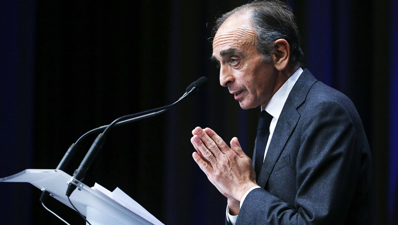 Eric Zemmour (fot.  Chesnot/Getty Images)
